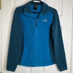 The North Face Fleece Jacket Blue Size Small